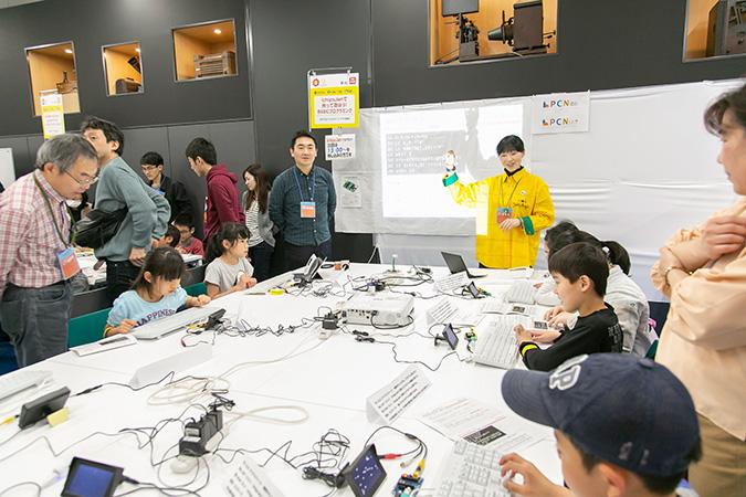 IchigoJamで子供プログラミング
